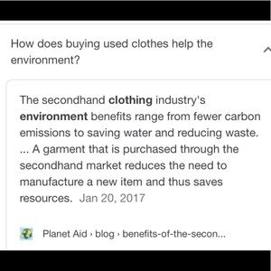 🌎BUY SECONDHAND SAVE THE PLANET 🌎